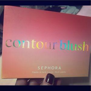 Sephora contour blush palette